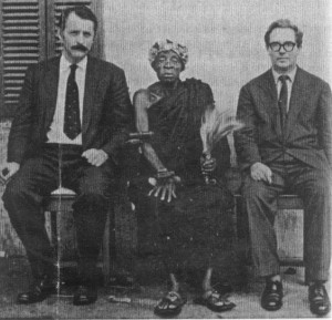 (left) Ivor Wilks 1960