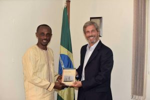 Kwame Essien at Brazilian Embassy