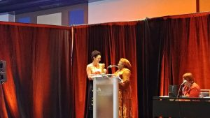 Carina receives Aidoo-Snyder Prize
